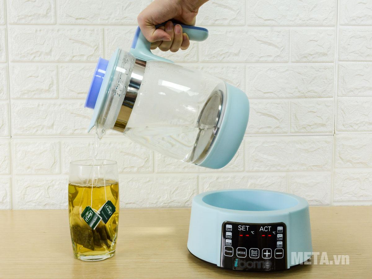 Bình đun nước pha sữa ibonne IB-21 1,2 lít