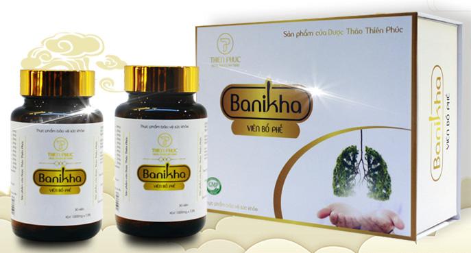 viên bổ phế đông trùng hạ thảo Banikha