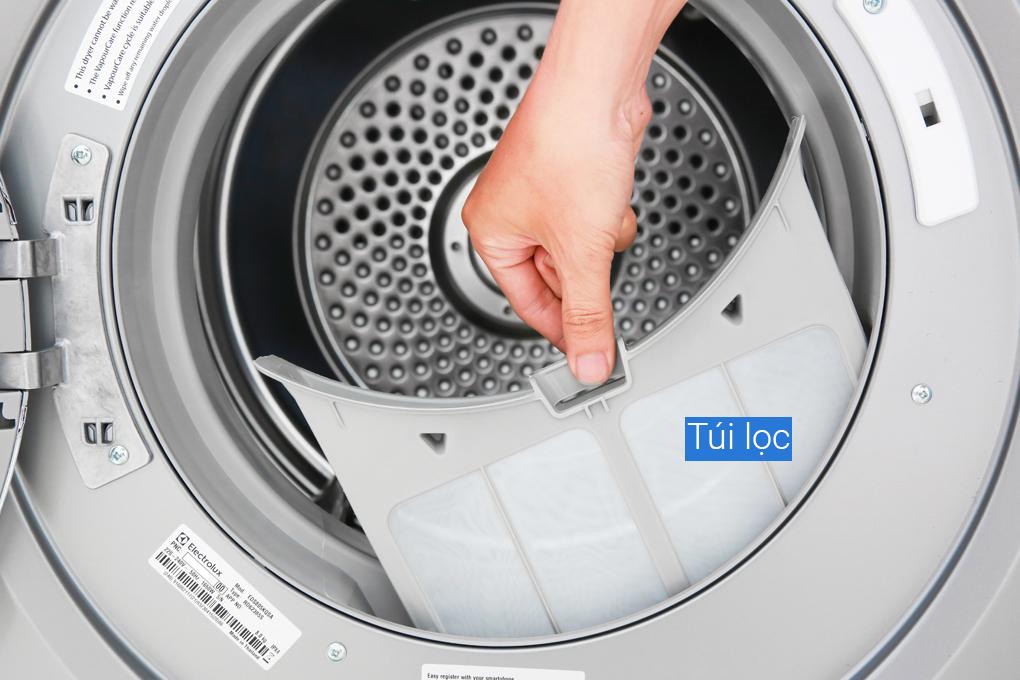 Túi lọc của máy sấy quần áo