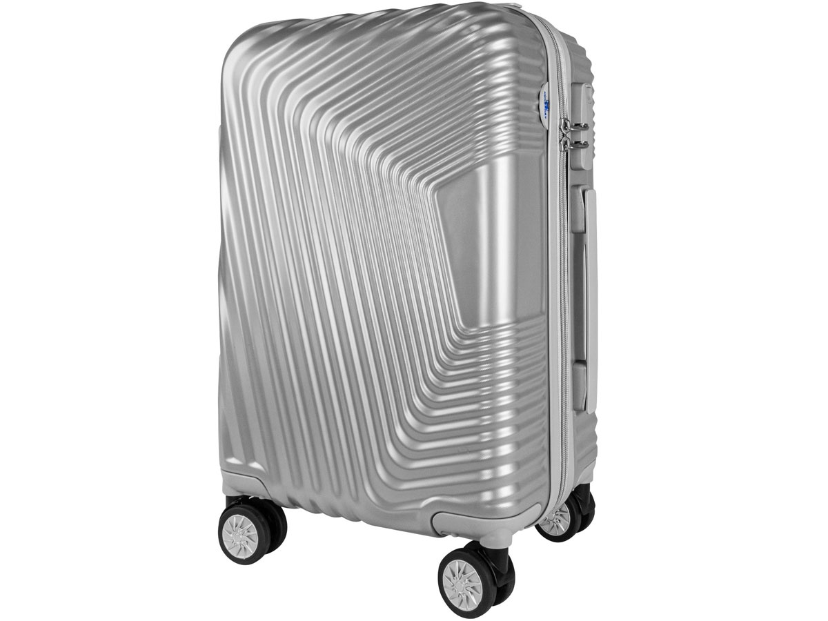 vali nhựa Hùng Phát - VLN 601 20 inch màu bạc