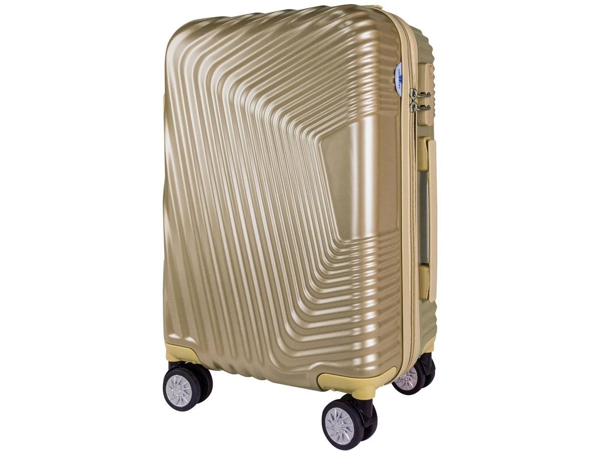 vali nhựa Hùng Phát - VLN 601 20 inch màu vàng