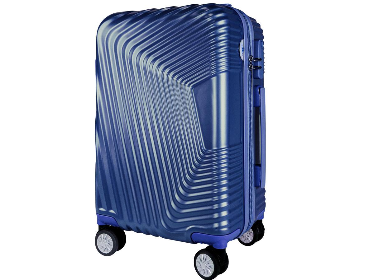 vali nhựa Hùng Phát - VLN 601 20 inch màu xanh