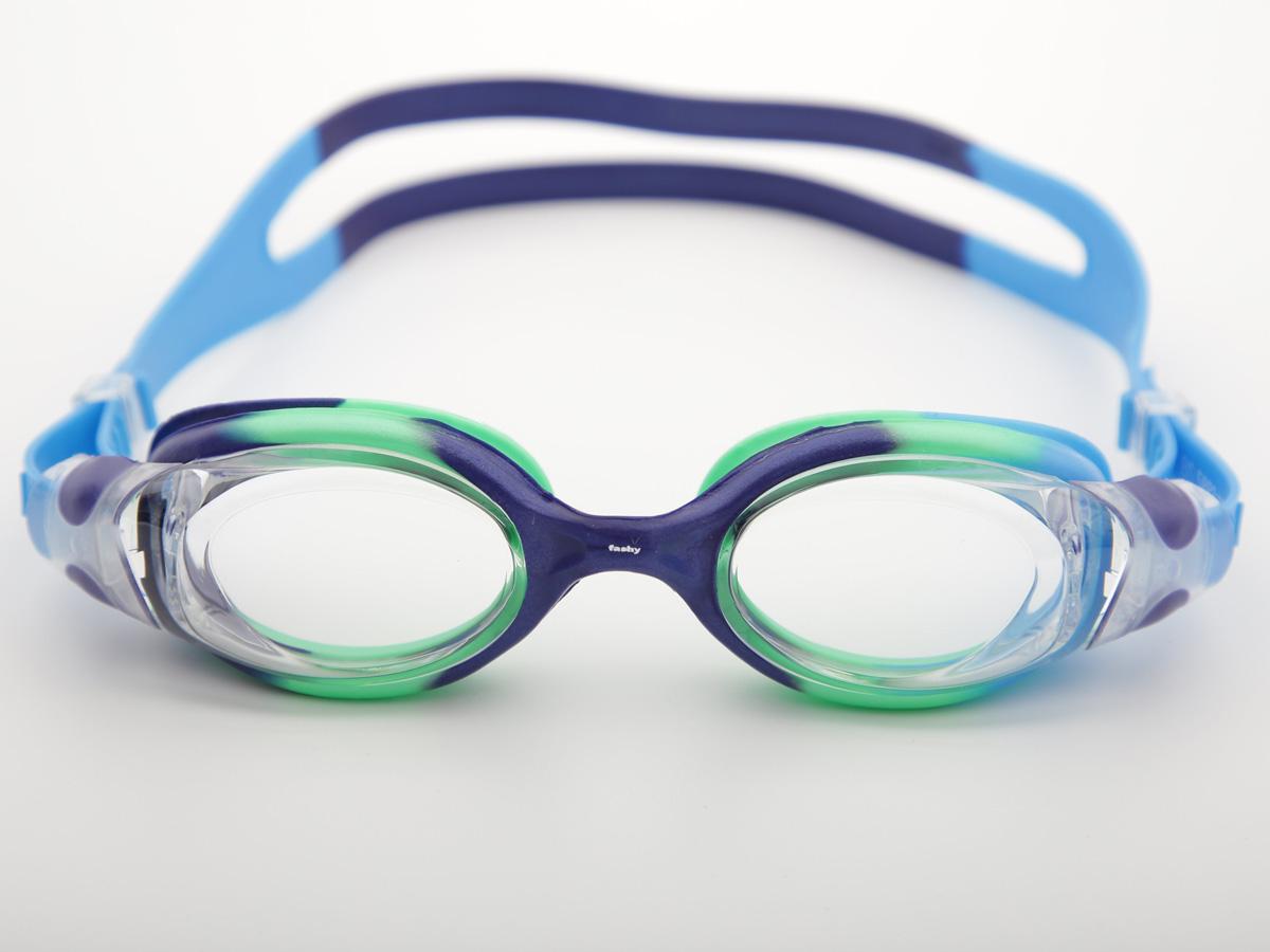 Kính bơi màu xanh