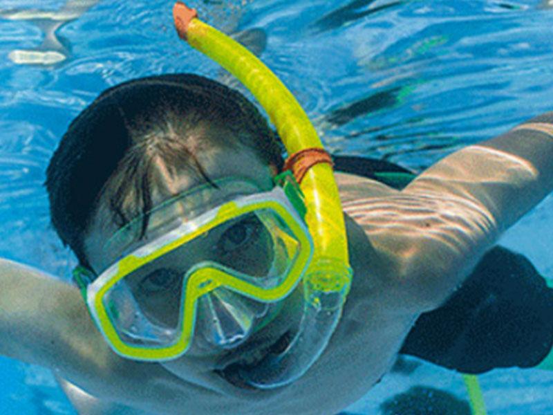 Kính lặn kèm ống thở Fanshy  size S