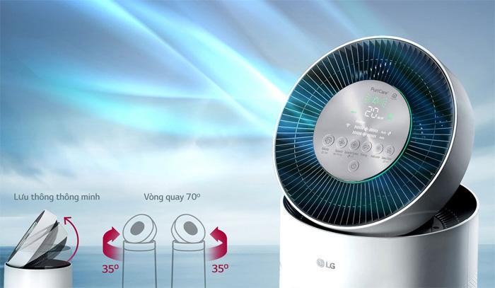 Máy lọc không khí LG AS65GDWD0