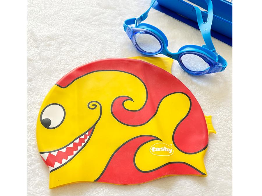 Nón bơi có thiết kế họa tiết độc đáo