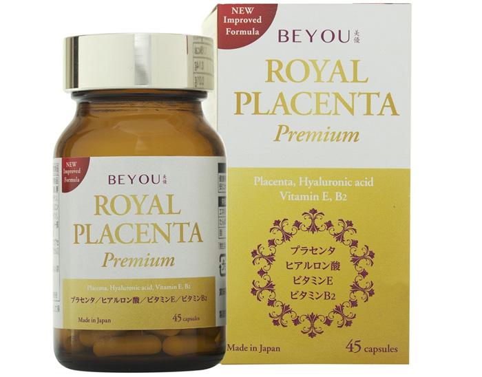Viên uống trắng da Beyou Royal Placenta