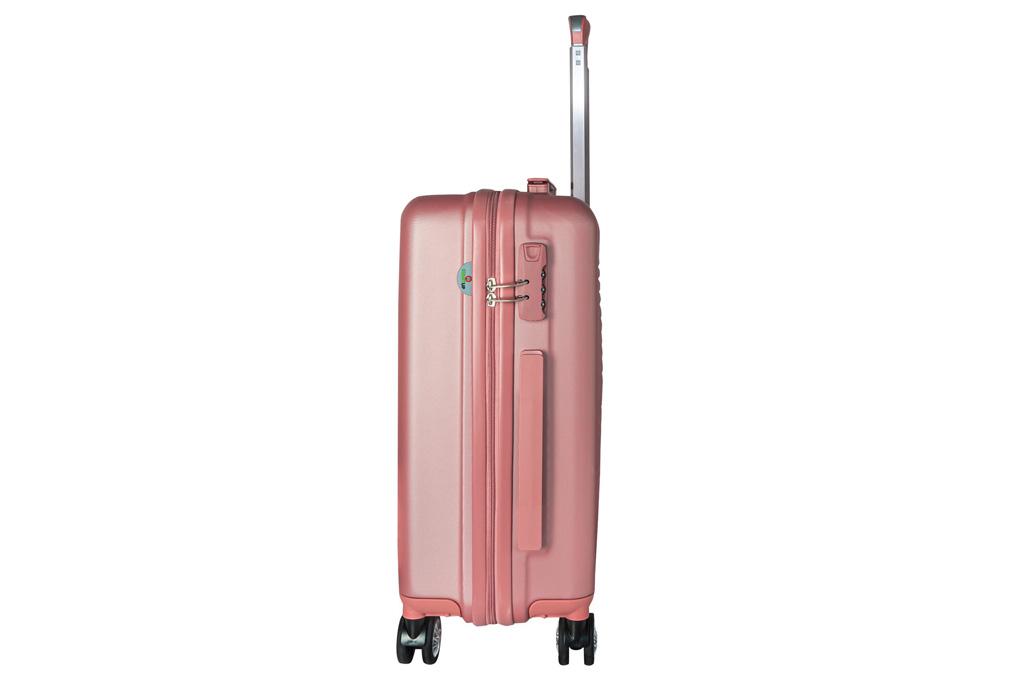 Vali màu hồng