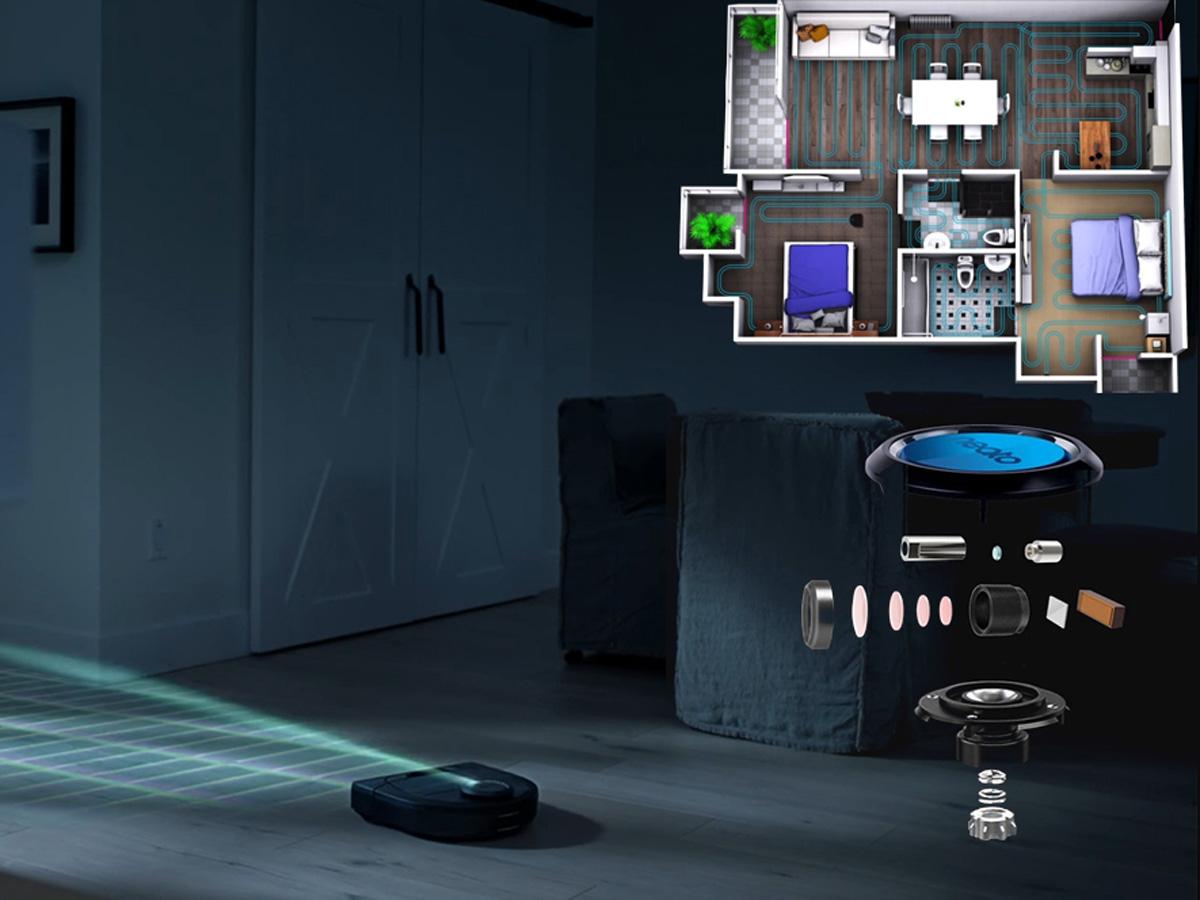 Ứng dụng hệ thống điều hướng Laser thế hệ mới