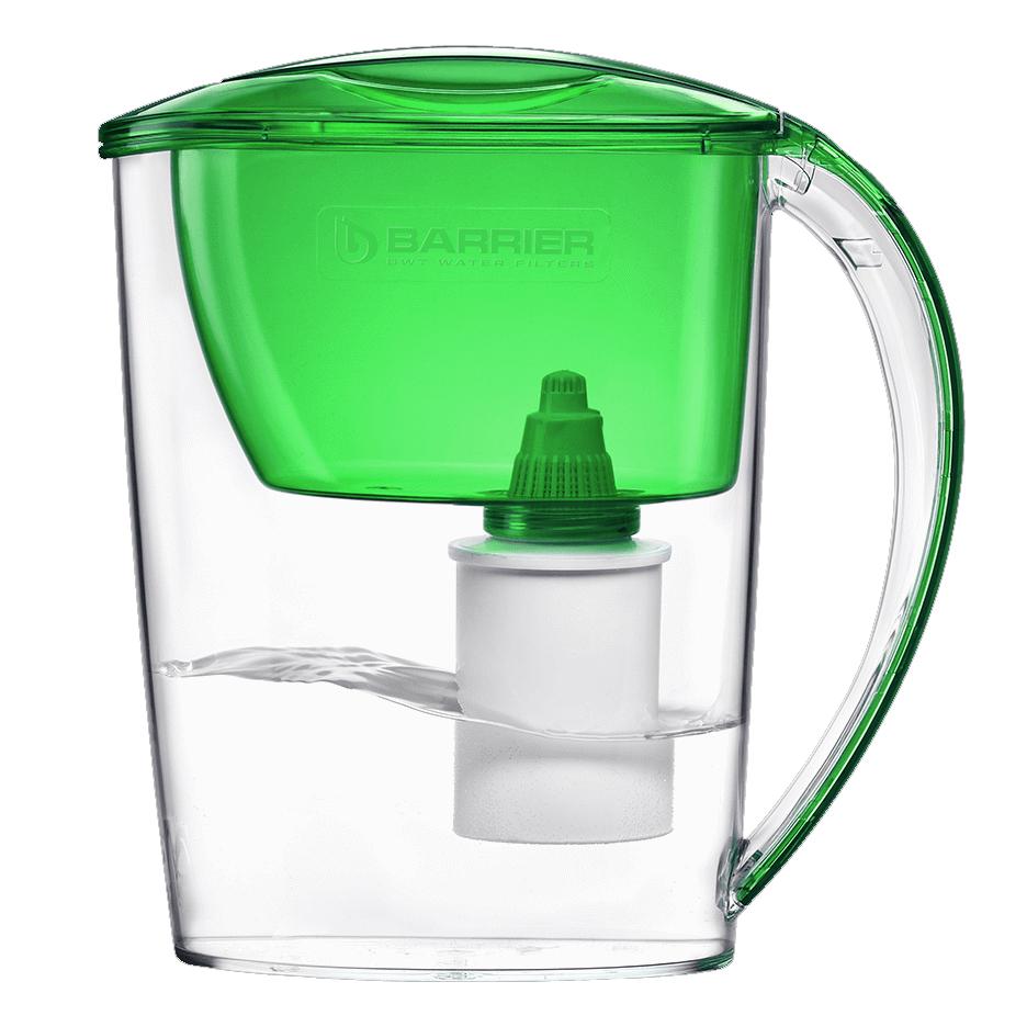 Bình nước màu xanh lá