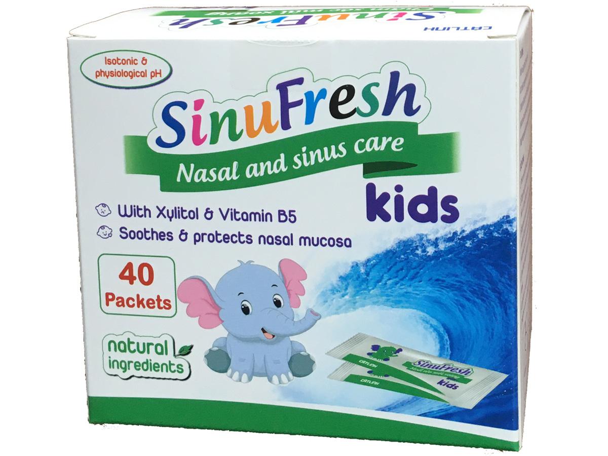 Muối SinuFresh Kids (hộp 40 gói)