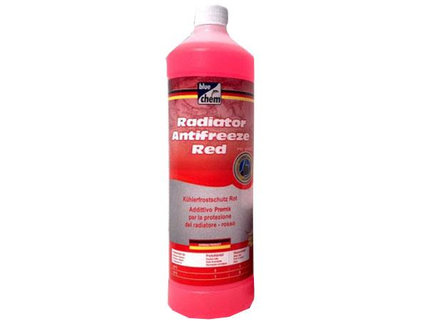 Bluechem Radiator Antifreeze Coolant Red 1L