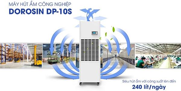 Máy hút ẩm công nghiệp Dorosin DP-10S