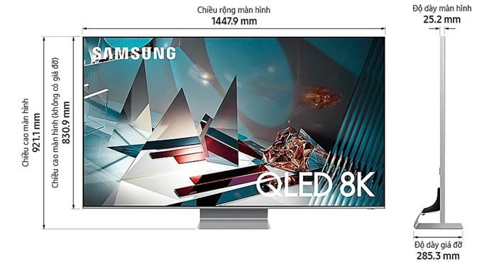 QLED Tivi Samsung QA65Q800TA