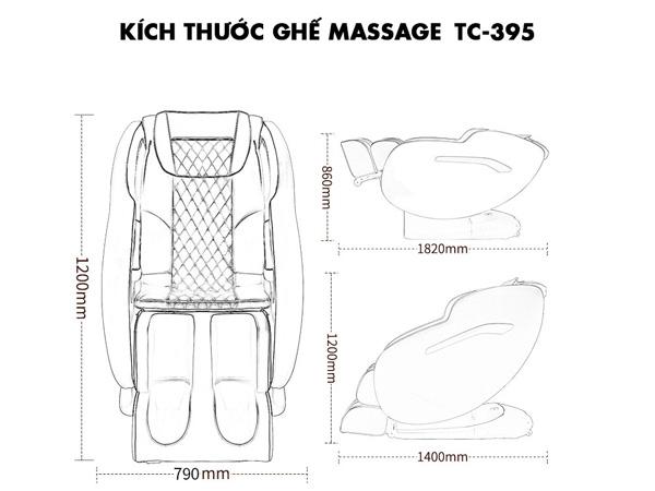 Kích thước ghế