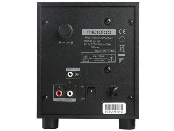Loa Microlab M105
