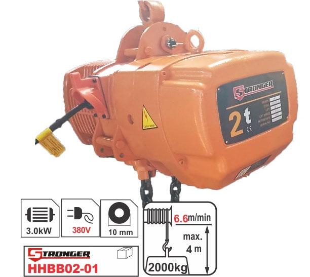 Palang xích điện Stronger HHBB02-01