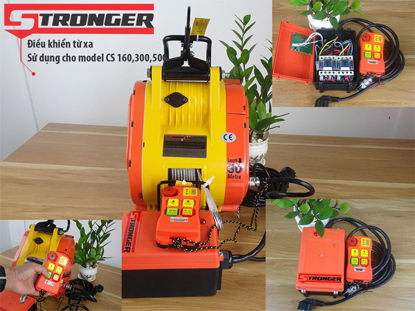 Tời xây dựng Stronger CS160
