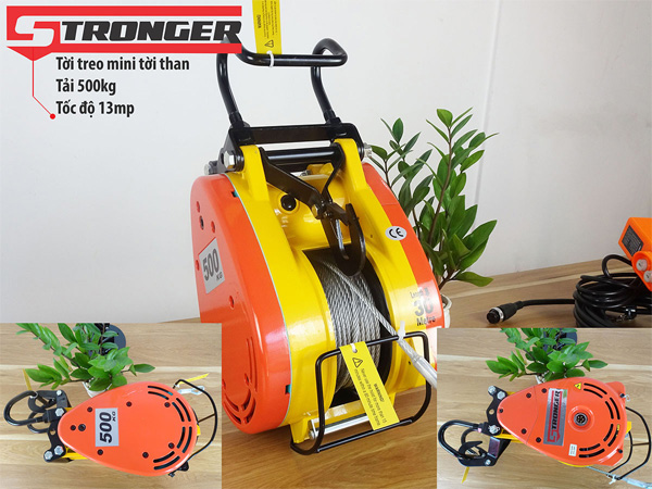 Tời xây dựng Stronger CS500