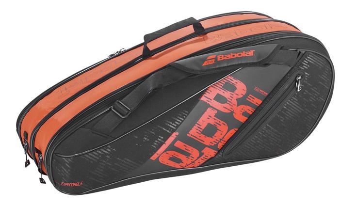 Hình ảnh bao tennis Babolat Expandable X4 X9 Black/Red (751203-144)