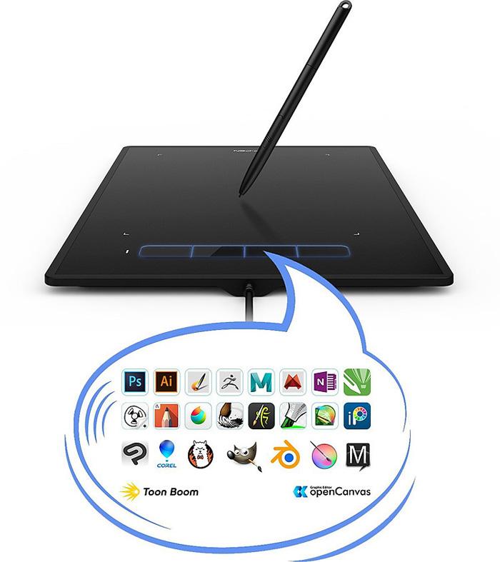Bảng vẽ điện tử XP-Pen Star G960