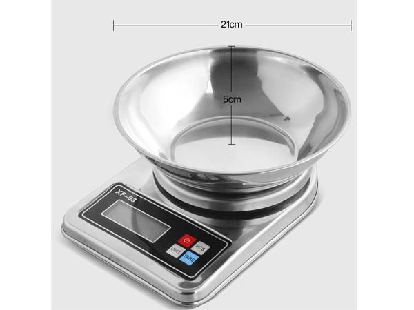 Kích thước cân điện tử