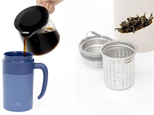 Bạn sẽ có những ly trà, cà phê thơm ngon với ly giữ nhiệt