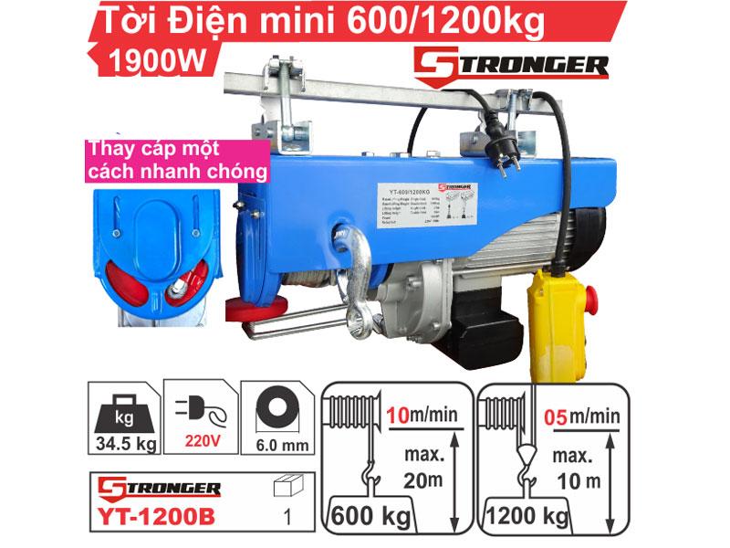 Tời điện mini Stronger YT-1200B