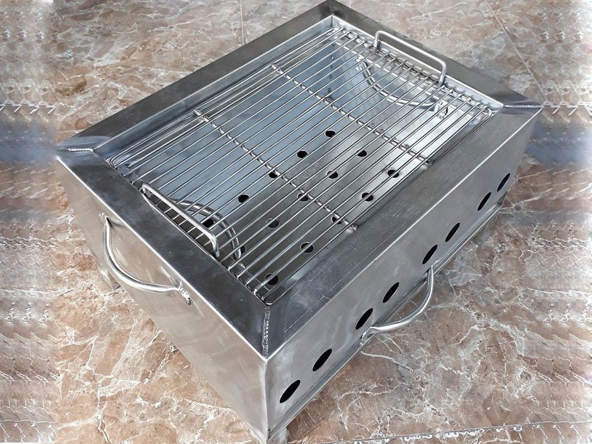 Bếp nướng than inox ngoài trời BT-304