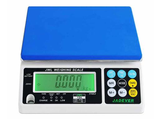 Hình ảnh cân điện tử 15kg/1g Jadever JWL-15K
