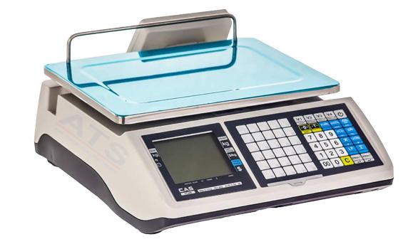 Hình ảnh cân điện tử in hóa đơn 30 kg CAS CT-100