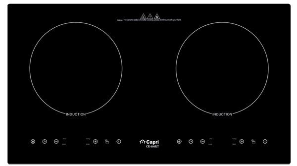 Bếp từ đôi Capri CR 806KT