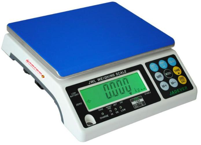 Cân điện tử 3kg/1g Jadever JWL-3K