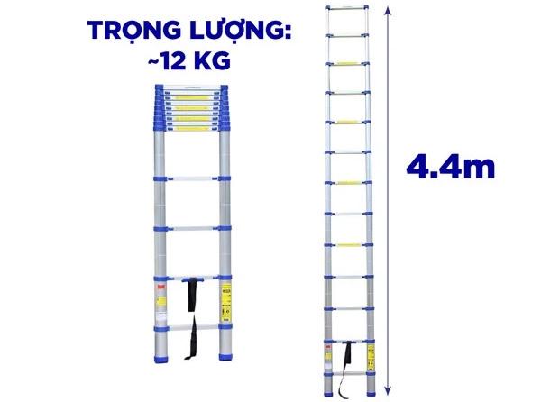 Thang nhôm rút Kachi MK238