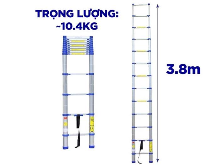 Thang nhôm rút Kachi MK237