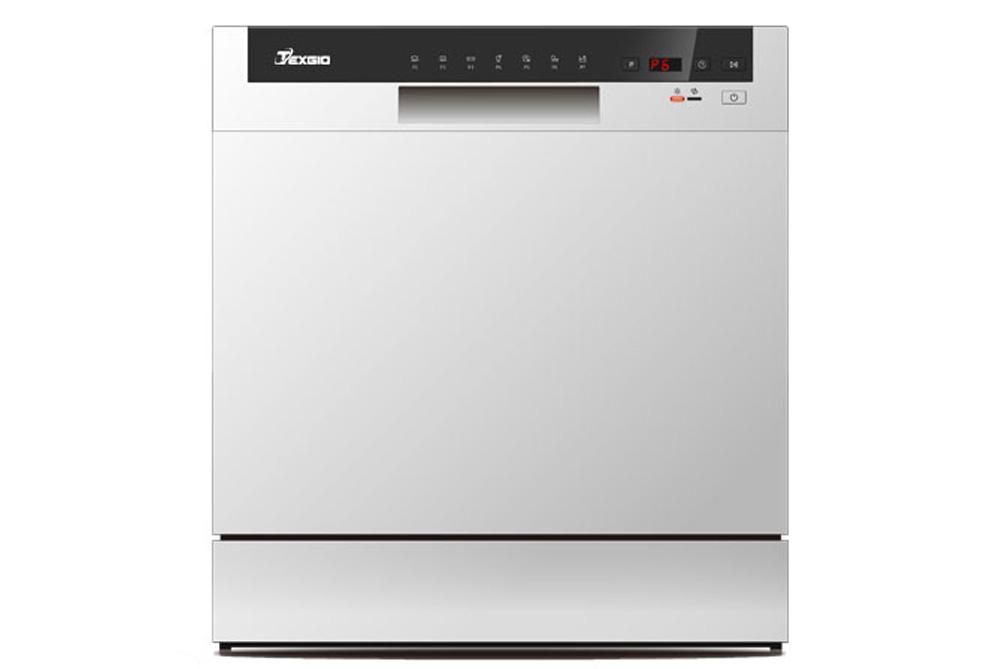 Hình ảnh máy rửa chén bát độc lập Texgio TG-DTW558 (8 bộ)