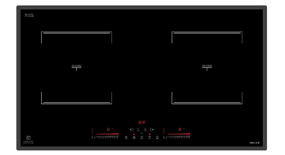 Hình ảnh bếp từ đôi Spelier SPE - IC928C