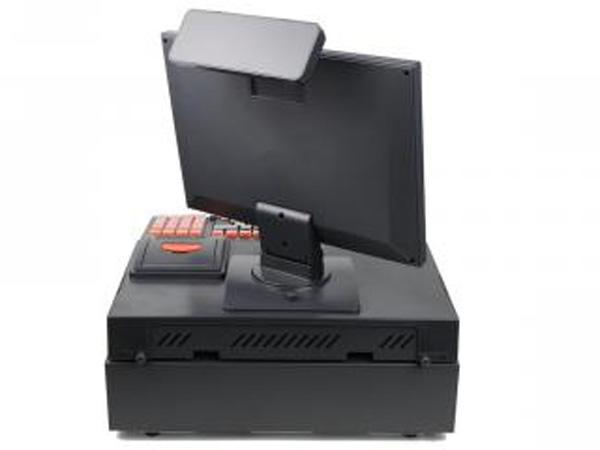 Mặt sau của máy tính tiền C100