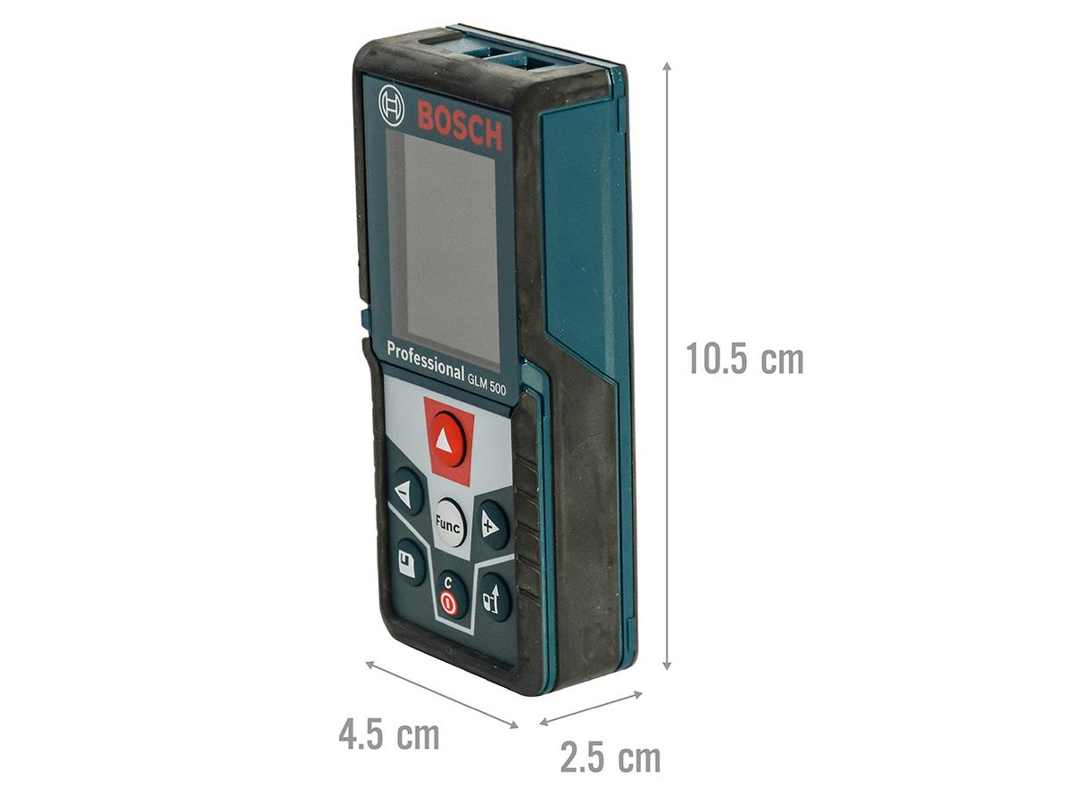 Kích thước của máy đo khoảng cách