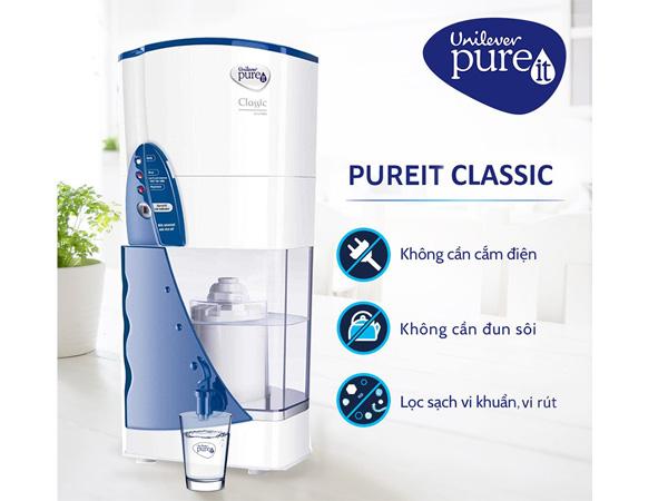 Ưu điểm của máy lọc nước Pureit