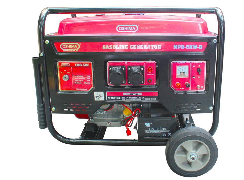 Máy phát điện chạy xăng Oshima MPD-5KW