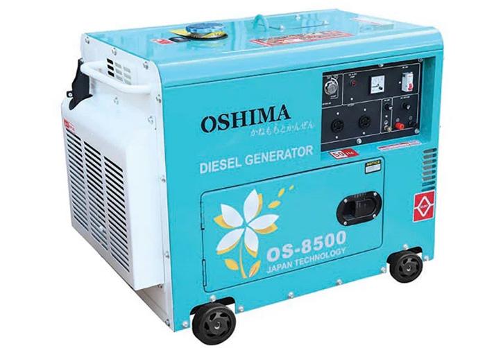 Thiết kế máy phát điện chạy dầu Oshima OS 8500 (7KVA)
