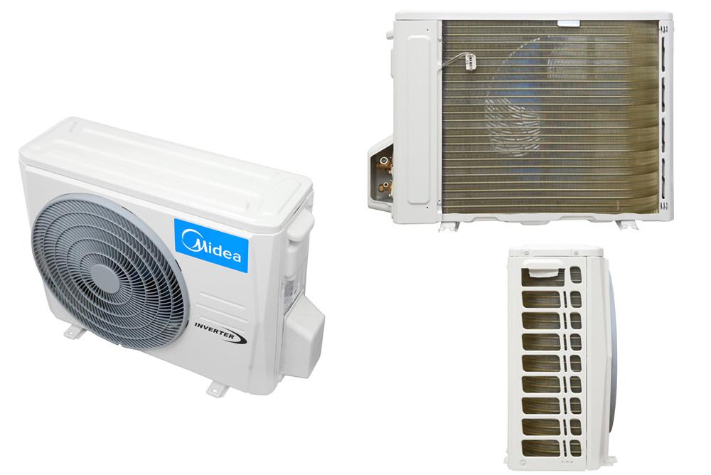 Dàn nóng của máy lạnh Midea Inverter 1 HP MSFR-10CRDN8