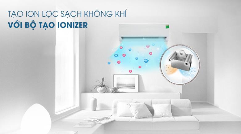 Bộ tạo lonizer tạo ion lọc sạch không khí