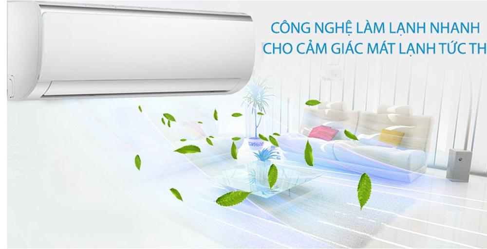 Công nghệ làm lạnh nhanh, tiết kiệm điện năng