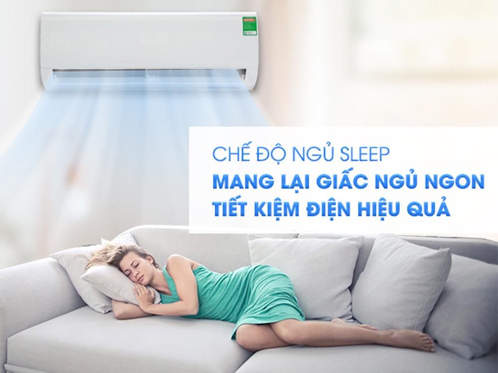 Chế độ ngủ Sleep hiện đại, thông minh, bảo vệ sức khỏe người dùng
