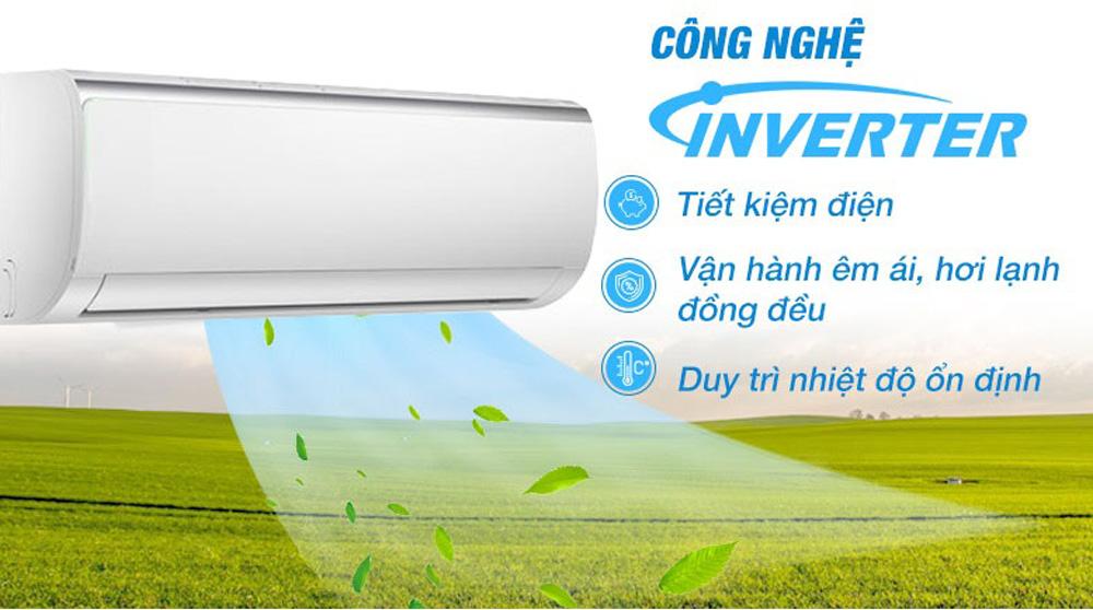 Ứng dụng công nghệ Inverter hiện đại