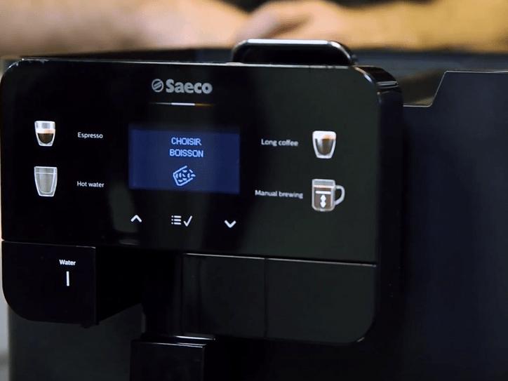 Màn hình máy pha cà phê