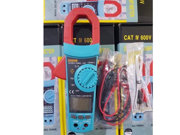 Thiết kế đồng hồ vạn năng Zoyi VC903