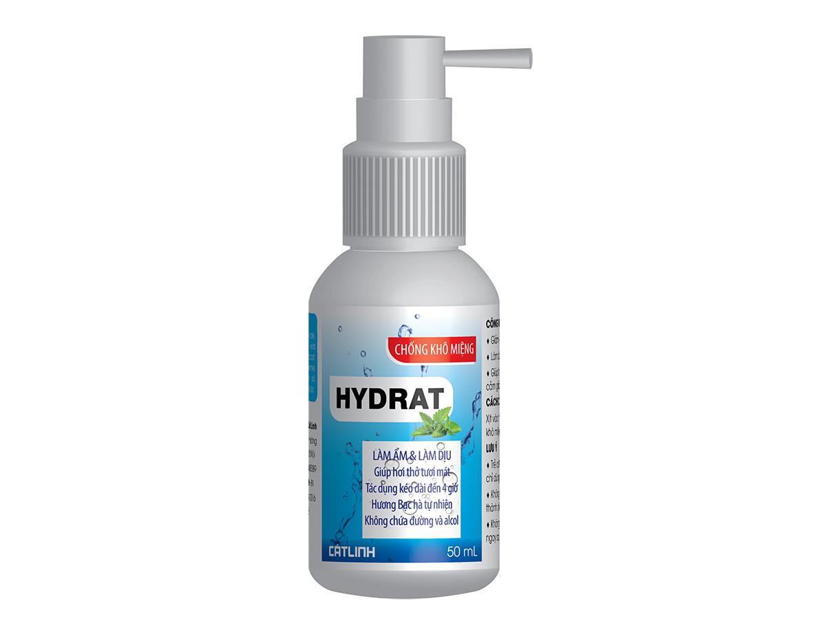 Gel xịt miệng Hydramint 50ml